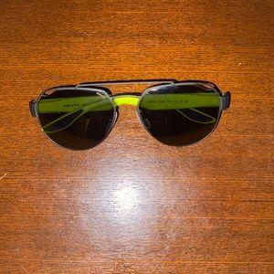 Authentic men's Prada sunglasses